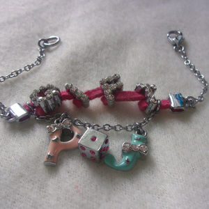 Jewelry - Gift P and J and Dice bracelet sparkletones